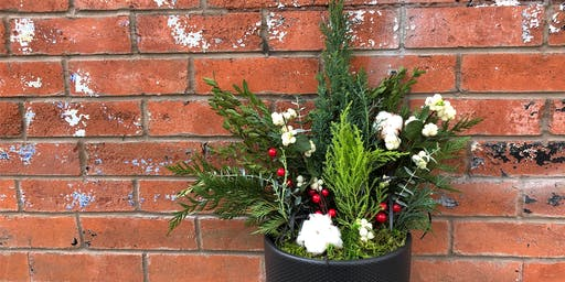 Potted Holiday Centerpiece Workshop