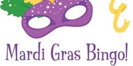 Mardi Gras Themed Designer Bag Bingo Fundraiser