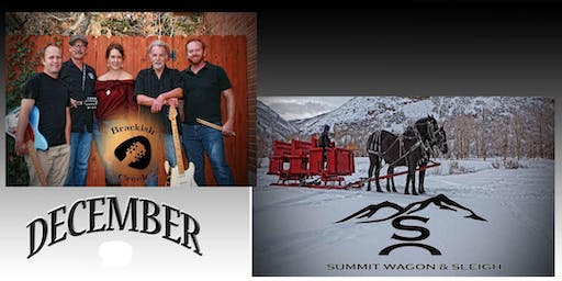 Sleigh Rides and Live Music with Brackish Creek Band in the Barn