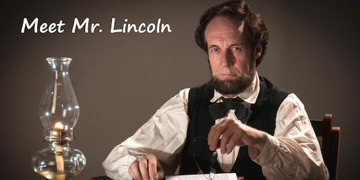 """""""Abraham Lincoln"""" as portrayed by Dennis Boggs"""