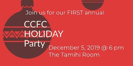 JINGLE & MINGLE - CCFC HOLIDAY PARTY! tickets