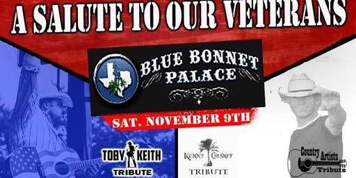 A Veterans Salute! Tributes to Kenny Chesney and Toby Keith!