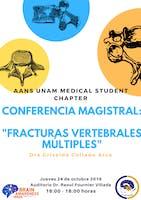 CONFERENCIA MAGISTRAL: FRACTURAS VERTEBRALES MÚLTIPLES