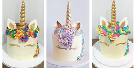 "Unicorn 5"" Mini Cake - Perfect for Parents and Children tickets"