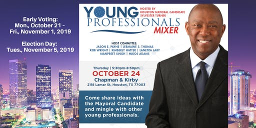 Young Professionals Mixer with Mayor Sylvester Turner