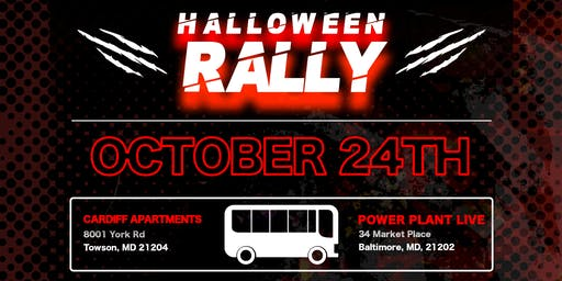 Halloween Pre-Rally - Round Trip Bus Tickets