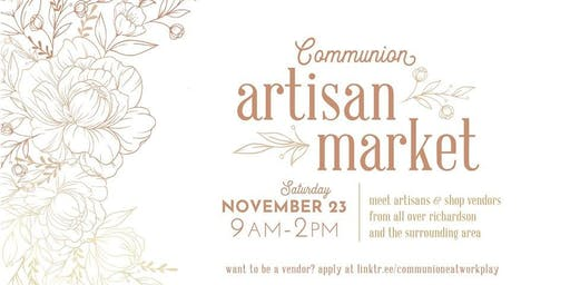 Artisan Market by Communion