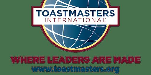 First Burlington Toastmasters Open House