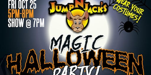 Kids Halloween Party & Magic Show