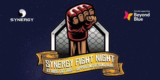 Synergy Fight Night at Rose Cottage - Supporting Beyond Blue