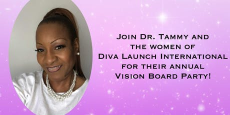 Diva Launch Vision Board Party tickets