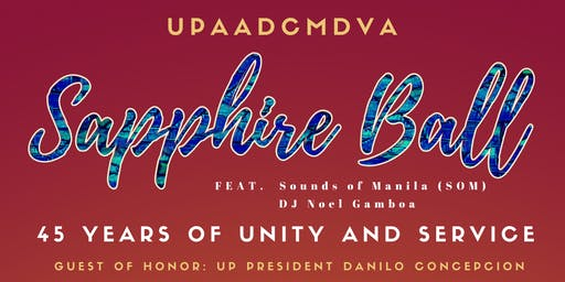 UPAADCMDVA Sapphire Ball (45 Years of Unity and Service)