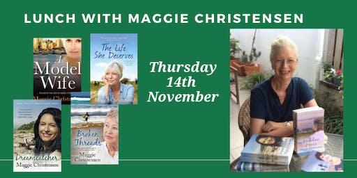 Lunch with Author Maggie Christensen