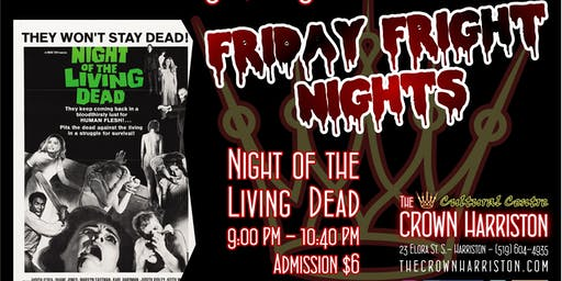 Friday Fright Nights: Night of the Living Dead