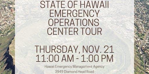 Hawaii Emergency Operations Tour (HI-EMA & DOD) - PRSA Members Only