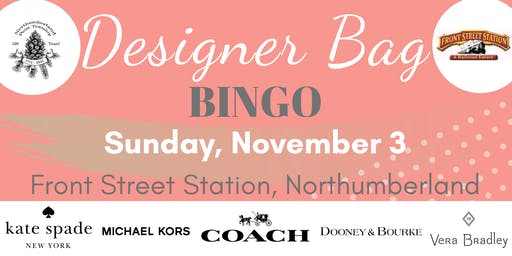 Designer Bag Bingo in Northumberland - Nov. 3