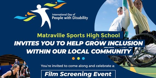 IDPwD Grow Inclusion In the Community-Film Screening Event