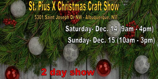 St Pius X - Christmas Craft Show