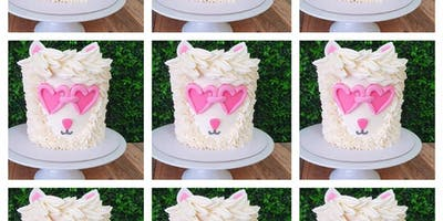 """Hipster Llama 5"""" Mini Cake - Perfect for Parents and Children"""