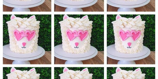 "Hipster Llama 5"" Mini Cake - Perfect for Parents and Children"
