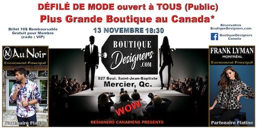 Défilé de mode 100% designers canadiens
