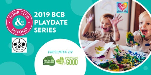 $5 BCB Playdate with Color Me Mine Presented by Seventh Generation (Naperville, IL)
