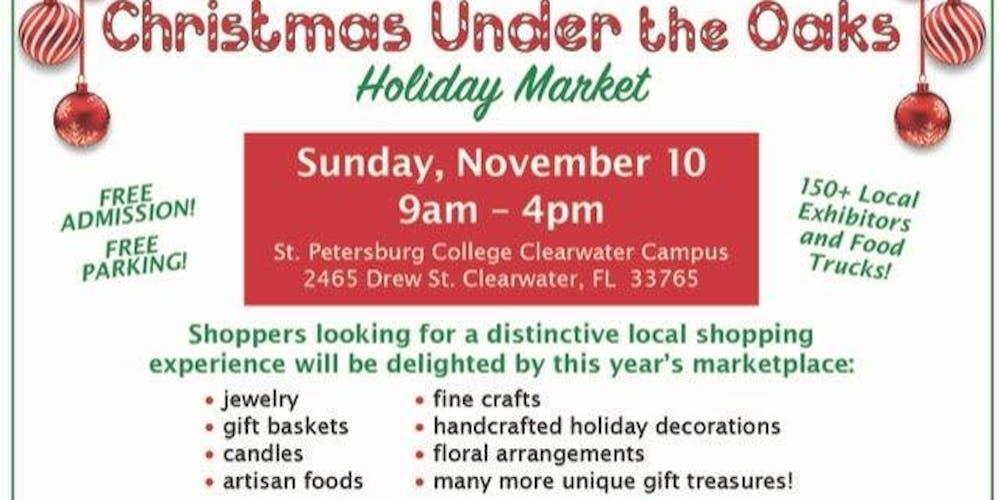 Christmas Under The Oaks.Christmas Under The Oaks Holiday Market Tickets Sun Nov 10