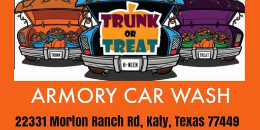 Trunk or Treat for Autism Families!