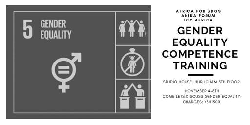 GENDER EQUALITY COMPETENCY TRAINING