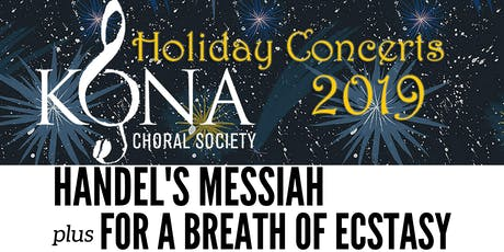 Handel's Messiah plus For A Breath Of Ecstasy tickets