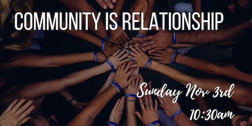 Build Community with Wholehearted Relationships: A Free Talk/Sermon