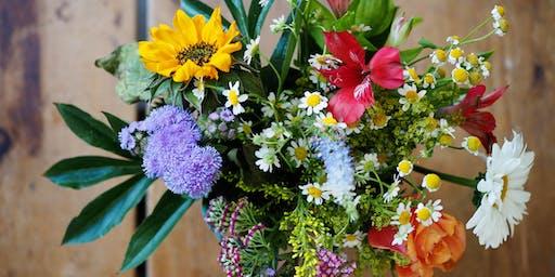 Mason Jar Floral