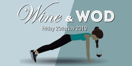 CF5011 Wine & WOD tickets