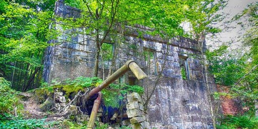 Fall Colors Hudson Valley Peters Kill Abandoned Hydro Plant & Waterfalls