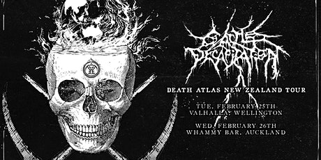 Cattle Decapitation Death Atlas Tour - Wellington tickets