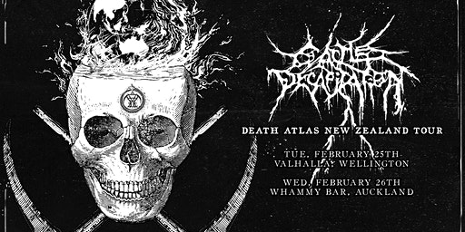 Cattle Decapitation Death Atlas Tour - Wellington