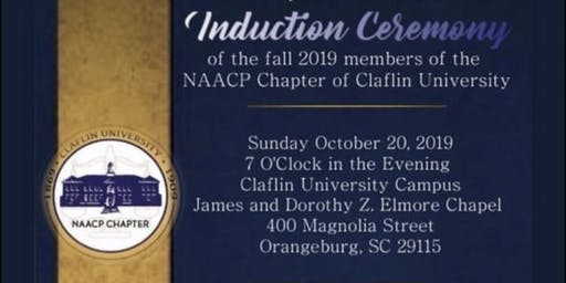 Claflin University's NAACP Induction Ceremony