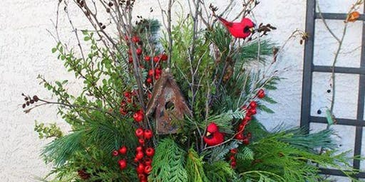 Evergreen Seasonal Planter