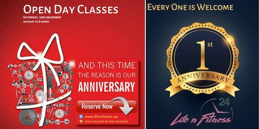 Anniversary Celebration - LifenFitness EkoCheras