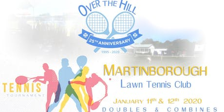 25th 'Over the Hill' Tennis Tournament tickets