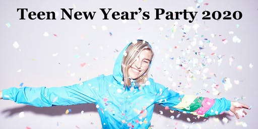 Teen New Year's Eve Art Party Dec 31st