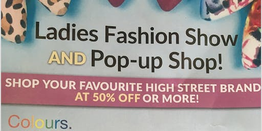 Ladies fashion show and Pop up shop for St Bess Village Primary School
