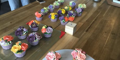 Cupcakes Decorating - Rose (Saturday, Nov 23rd, 11am) tickets