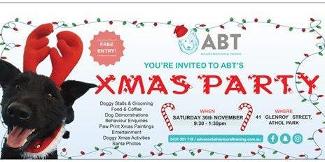 ABT'S XMAS DOGGY PARTY!