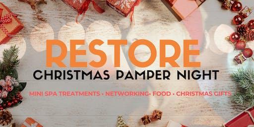 Restore Christmas Pamper Night @ The Indigo