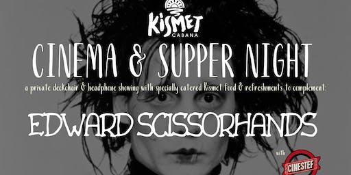 Kismet Cinema & Supper Night - EDWARD SCISSORHANDS