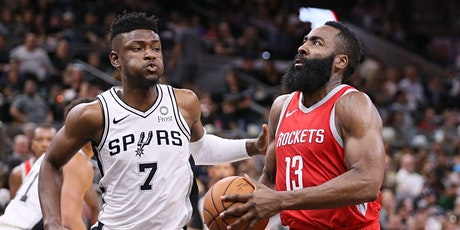Spurs vs Rockets French Quarter New Orleans Viewing tickets