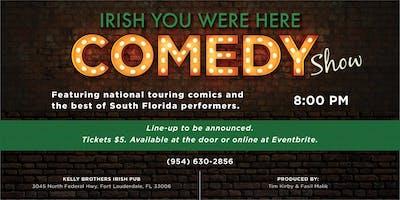 Comedy Night at Kelly Brothers! November 14th