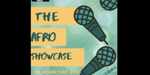 THE AFRO SHOWCASE by the Nigerian society