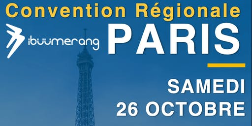 1ère CONVENTION RÉGIONALE IBÜÜMERANG À PARIS